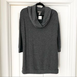 A Pea in the Pod Maternity 3/4 Sleeve CowlNeck Top